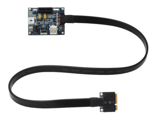 PE4L-PM060A v2.1b (PCIe to Mini Card adapter)