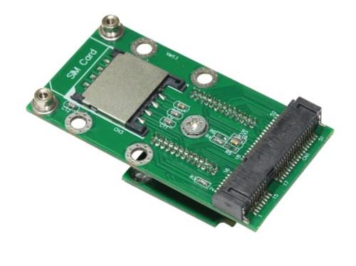 MM3U-DB3U V1.1  (DB3U to MiniCard Vertical Extender with SIM Card Slot)