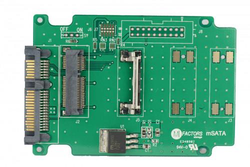 MF30-mSATA (mSATA Mini (Half Size) to SATA adapter - support SATA III)