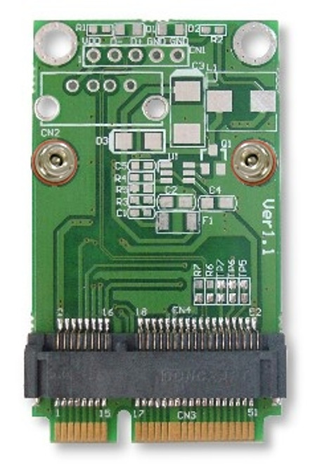 MM2U-S v1.2 (Half to Full MiniCard Adapter with SIM Card Slot)