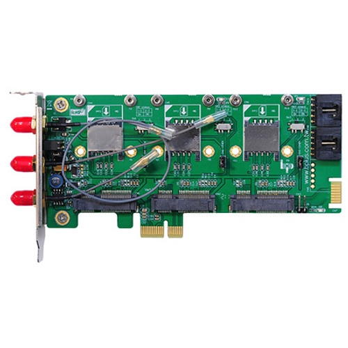 MP3A  (Triple mPCIe to PCIe Adapter)