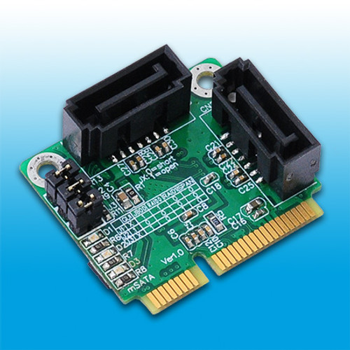 PM1092R (Dual SATA to Mini-SATA RAID Adapter)