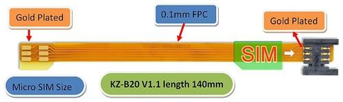 B2014B (Micro SIM to SIM Card Extender)