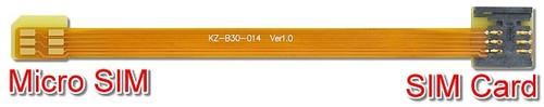B3014A (Micro SIM to SIM Card Extender)