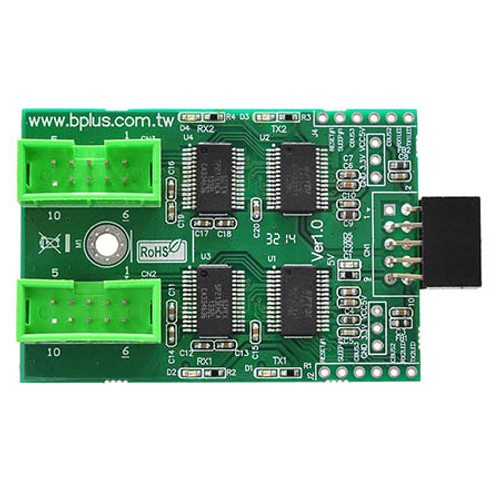 U0902A (USB2.0 9Pin Header to Dual RS232)