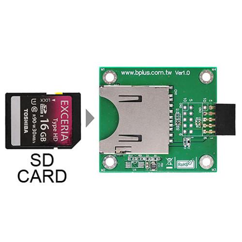 U0909A (USB2.0  9Pin Header to SD Card Reader)