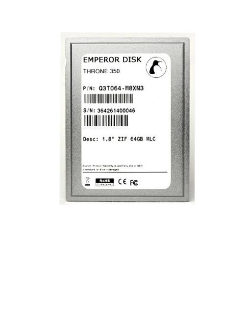 """1.8"""" ZIF PATA [8GB-128GB] - Royale 550"""