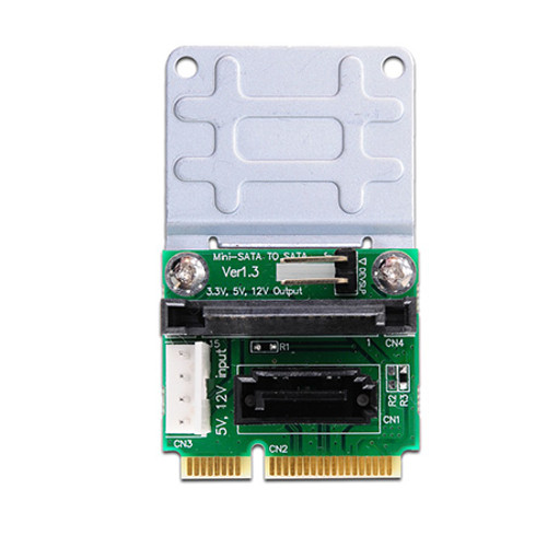 PMMD V1.3 (SATA to mini-SATA adapter with SATA Power)