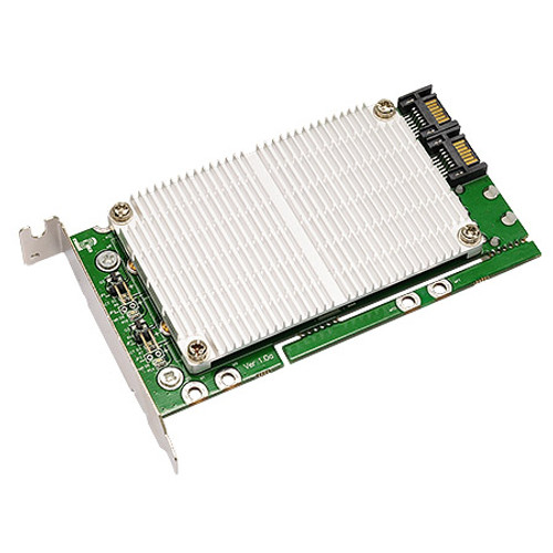 M2S4C (Quad M.2 (NGFF) SSD to SATA RAID Adapter)