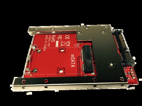 "MF-168mL-7 (Latch and Retain mSATA SSD as 7mm 2.5"" SATA Drive)"