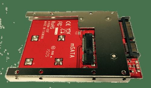"""MF-168m-7H (mSATA mini SSD as 7mm 2.5"""" SATA Drive)"""