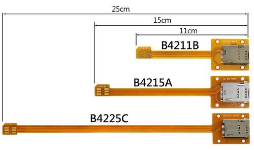 B4225C (micro SIM to SIM Card Extender)