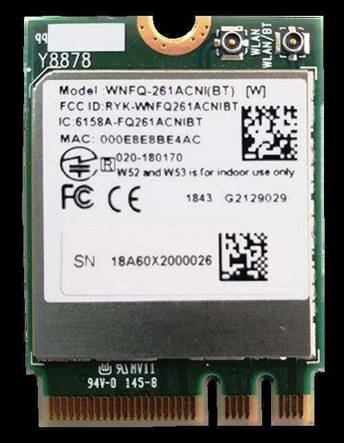 WNFQ-261ACNI(BT) 802.11ac/a/b/g/n Wi-Fi / Bluetooth M.2 2230 Module, Qualcomm QCA6174A, 2T2R