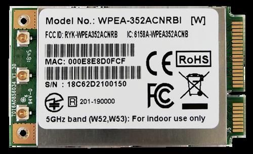 WPEA-352ACNRBI 802.11ac/a/b/g/n Industrial Grade Mini PCIe Module, Qualcomm QCA9890-BR4B, 3T3R