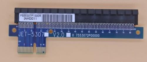 JET-5307 Convert PCI express X16 into PCI express X1 extender