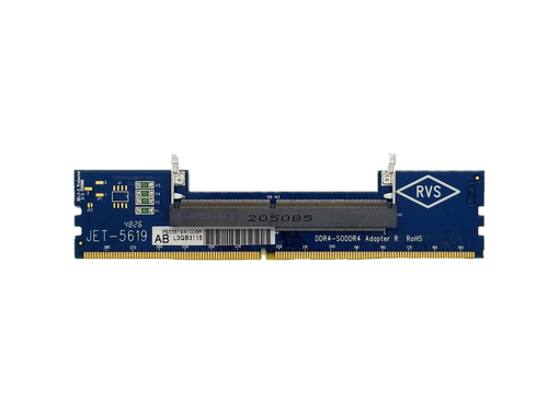 JET-5619AB DDR4 SODIMM Adapter (High Frequency, Reverse)