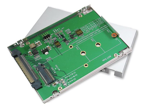 "U.2 2.5"" Enclosure for M.2 NVMe SSD with SMBUS EEPROM"