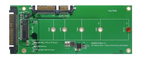 U.2 (SFF-8639) & SATA to M.2 M-Key Adapter