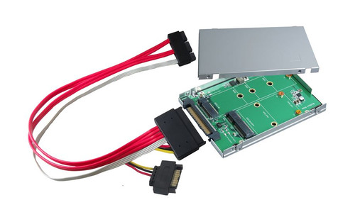 "2.5"" SATA Express to M.2 (M-Key) & mSATA SSD Adapter U.2 (SFF-8639) to M.2 (M-Key) PCIe x4 I/F SSD Adapter"