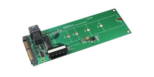 Mini SAS HD (SFF-8643) & U.2 (SFF-8639) to M.2 M-Key Adapter