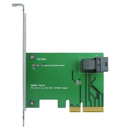 PCIe x4 to SFF-8643 Gen 3/4 Lane
