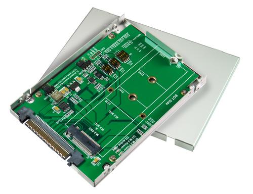 MFPU424F U.3 Gen-Z (SFF-8369) to M.2 NVMe SSD adapter