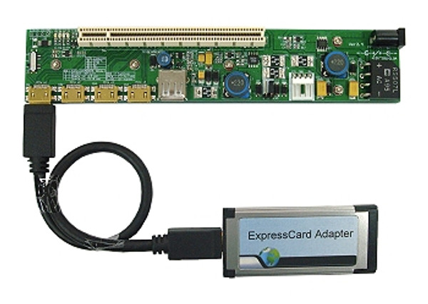 PE4H-EC2C v2.4 (PCIe Passive Adapter with EC2C ExpressCard Adapter)