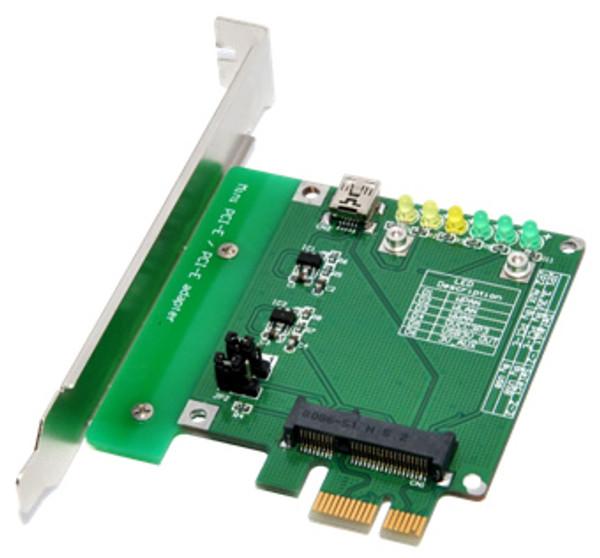 MP1 (Mini PCI-E / PCI-E adapter ver 1.0a)
