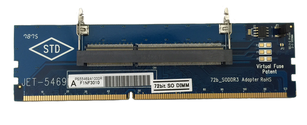 JET-5469A (72bit DDR3 SO-UDIMM Adapter)