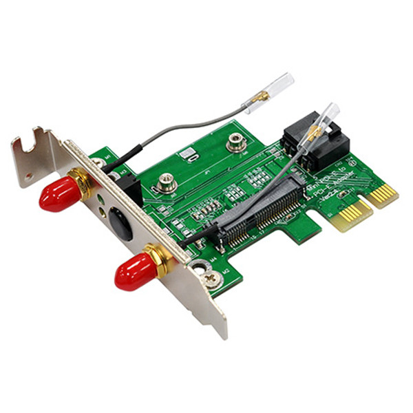 MP2H-RPSMA v2.4(Half Size mPCIe to PCIe Adapter)