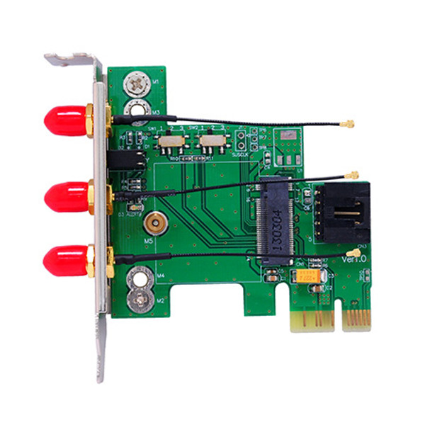 M2P2H (M.2 Wireless Card to PCIe Adapter)