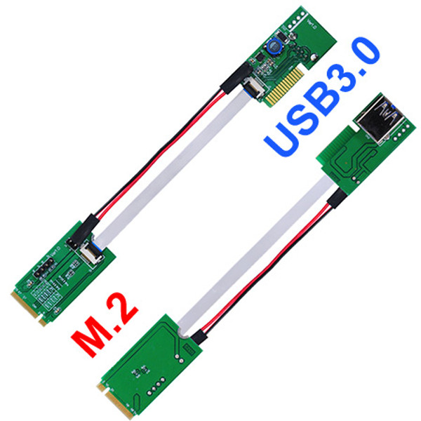 U32S-U32F (M.2 to USB3.0 Extender Board) New P/N: P32S-P32F