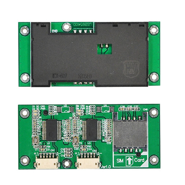 USB9540D (Dual SIM / Smart Card Reader Module)