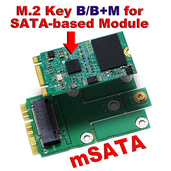 M2MS1 (M.2 (NGFF) to mSATA adapter)