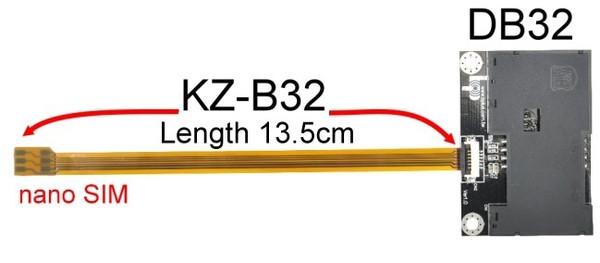B3214A-DB32 (Nano SIM to SmartCard Extender)