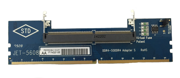 JET-5608AA (DDR4 SODIMM to DIMM Adapter) -- NEW P/N - Please see JET-5608AK