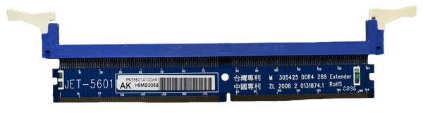 JET-5601AK (DDR4 DIMM EXTENDER WITH METAL GUIDE)
