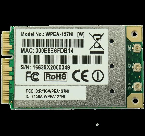 WPEA-127NI 802.11a/b/g/n Industrial-Grade Mini PCIe Module, Atheros AR9390-AL1B, 3T3R