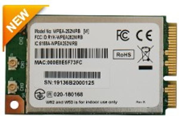 WPEA-252NIRB 802.11a/b/g/n Industrial-Grade Mini PCIe Module, Qualcomm Atheros AR9592-AR1B, 2T2R