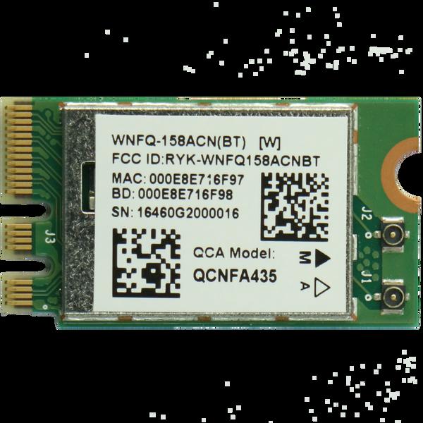 WNFQ-158ACN(BT) 802.11ac/b/g/n Wi-Fi M.2 module, Qualcomm Atheros QCA9377,1T1R