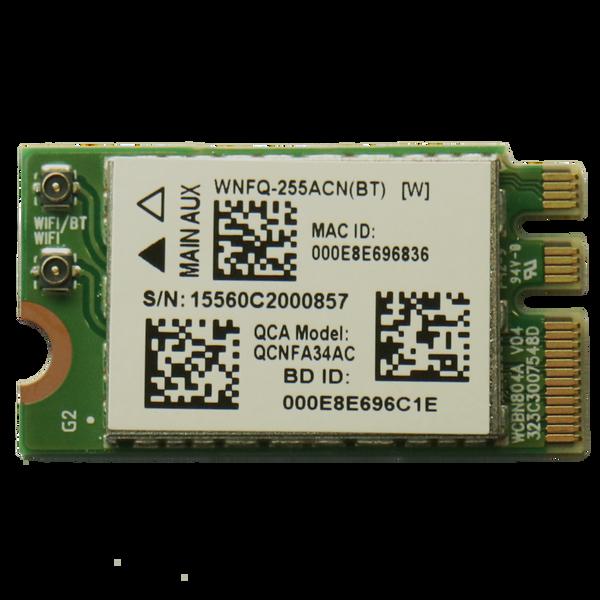 WNFQ-255ACN(BT) 802.11ac/a/b/g/n WiFi M.2 Module, Qualcomm Atheros QCA6174, 2T2R