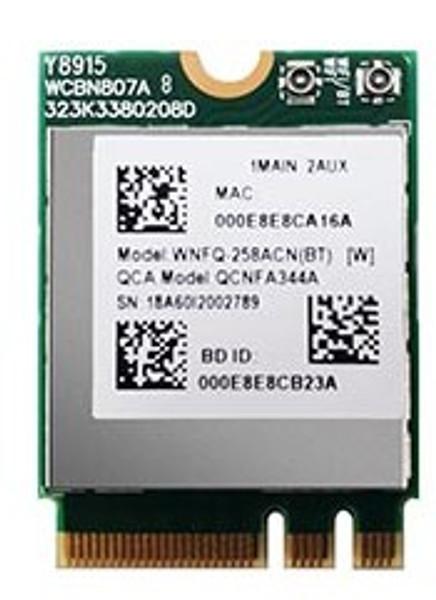 WNFQ-258ACN(BT) 802.11ac/a/b/g/n WiFi + Bluetooth M.2 Module, Qualcomm Atheros QCA6174A-5, 2T2R   BACK TO STOCK