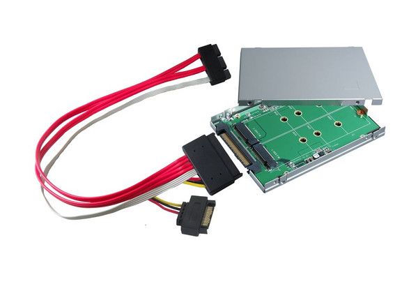 "2.5"" SATA Express to M.2 (B-Key) SSD x2 Adapter"