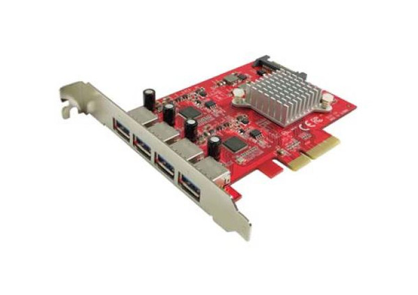 MF-UB-155 4Ports 10Gbps USB3.1 Type-A 5V2A PCIe Host Adapter