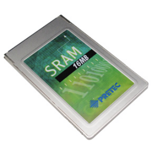 PRETEC PCMCIA SRAM CARD INDUSTRIAL GRADE