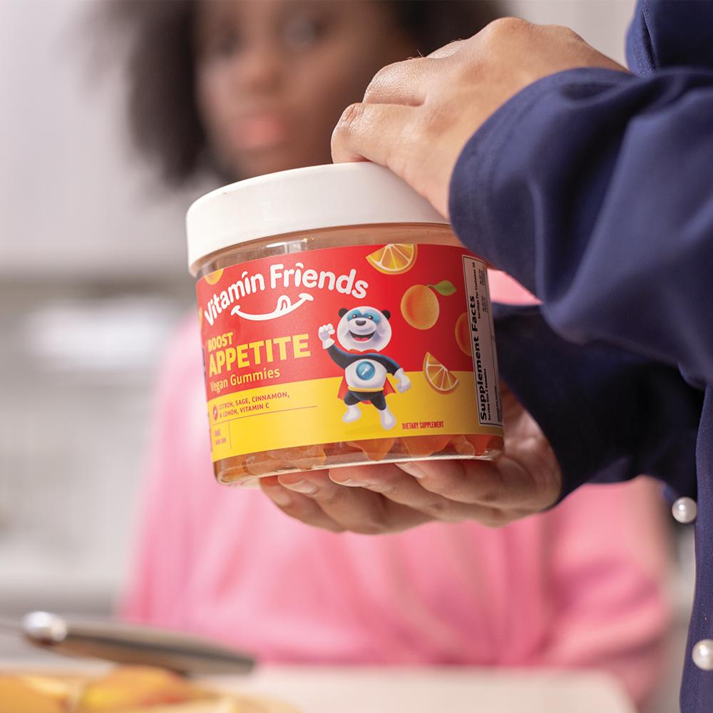 Vitamin Friends Kids Vegan Boost Appetite Gummies