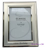 Silver 100th Birthday 4x6in Vertical Photo Frame