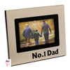 No 1 DAD Photo Frame Fathers Day Gift
