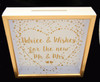 Advice and Wishes Wedding Card Box