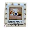 Dog Memorial Square Photo Frame